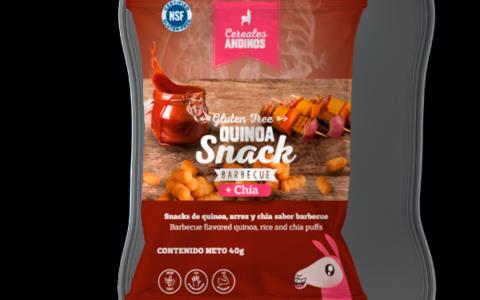 Quinoa snack bbq